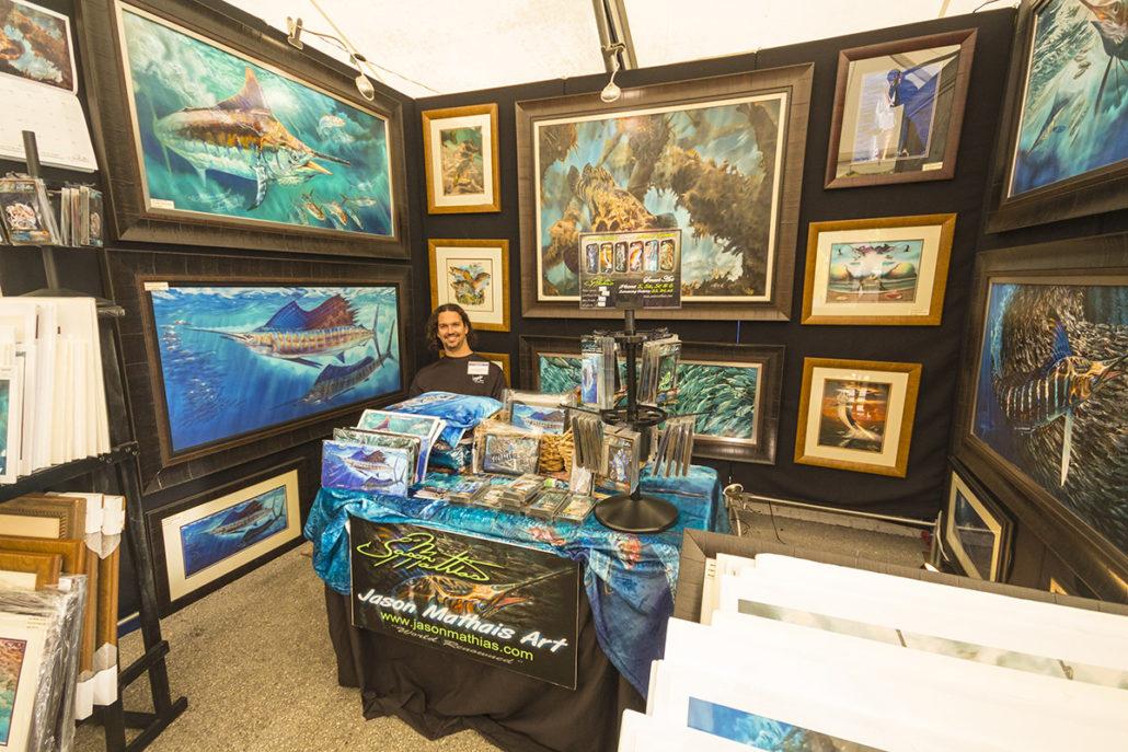Art at The Stuart Boat Show