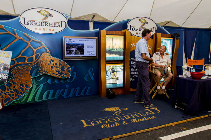 Club and Marina at The Stuart Boat Show
