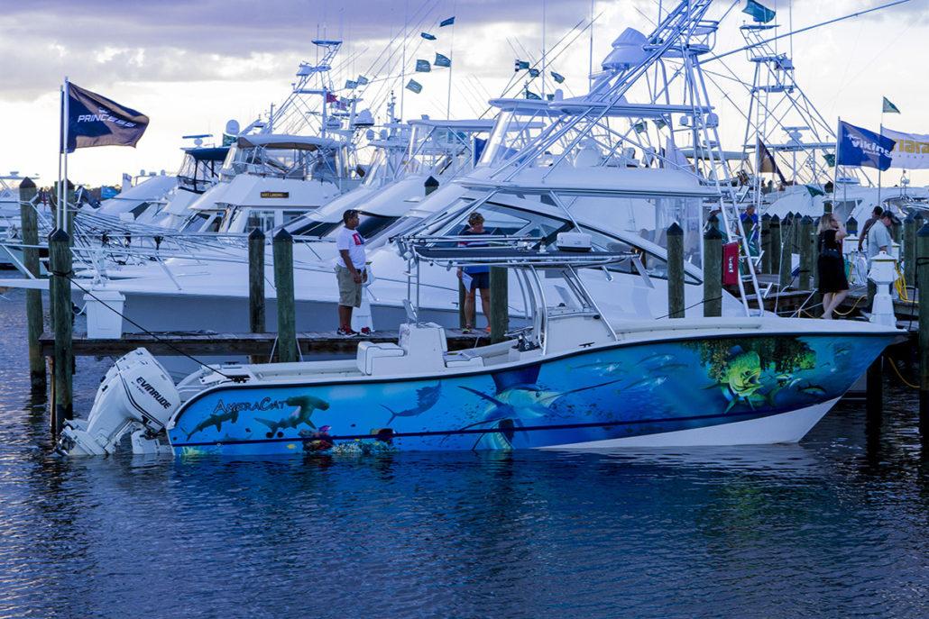 Fishing Boat at The Stuart Boat Show