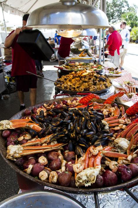 Food at The Stuart Boat Show