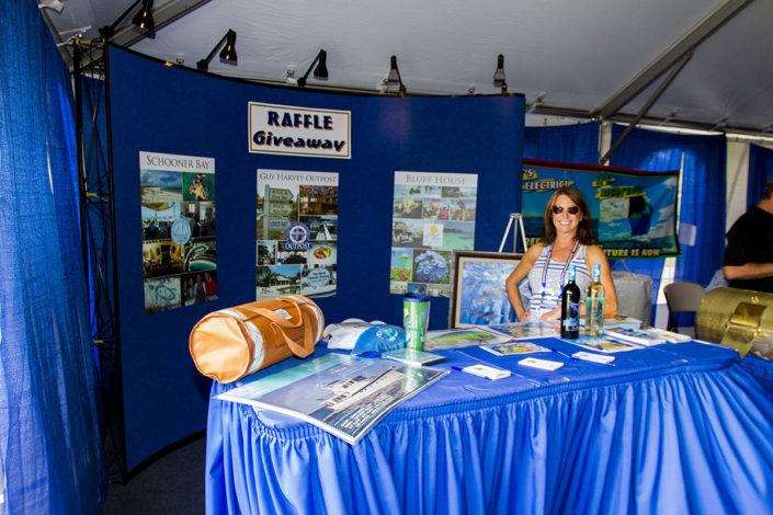 Giveaways at The Stuart Boat Show