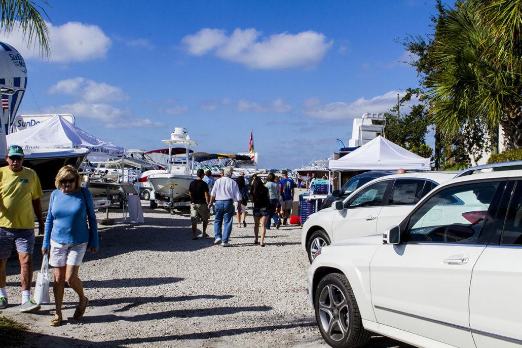 Mercedes Benz Cars at The Stuart Boat Show