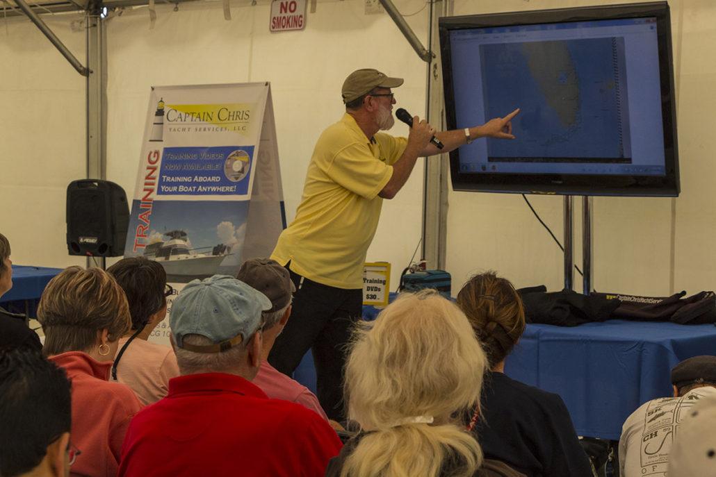 Seminar at The Stuart Boat Show