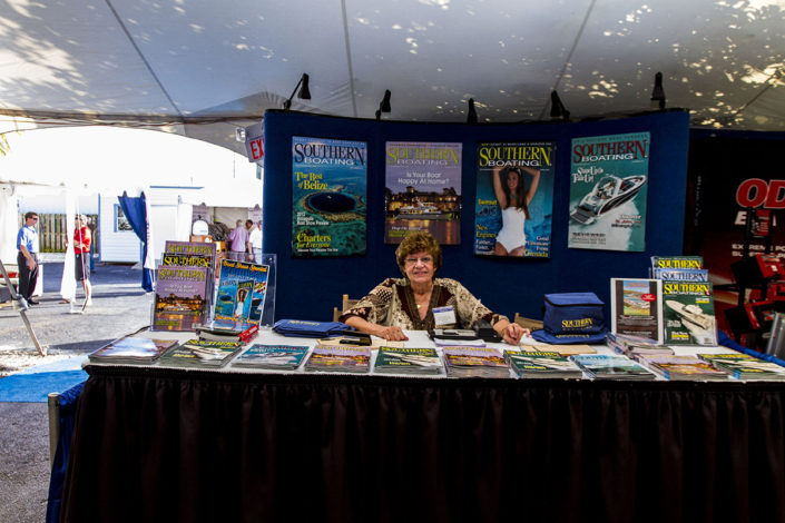 Southern Boating Magazine at The Stuart Boat Show