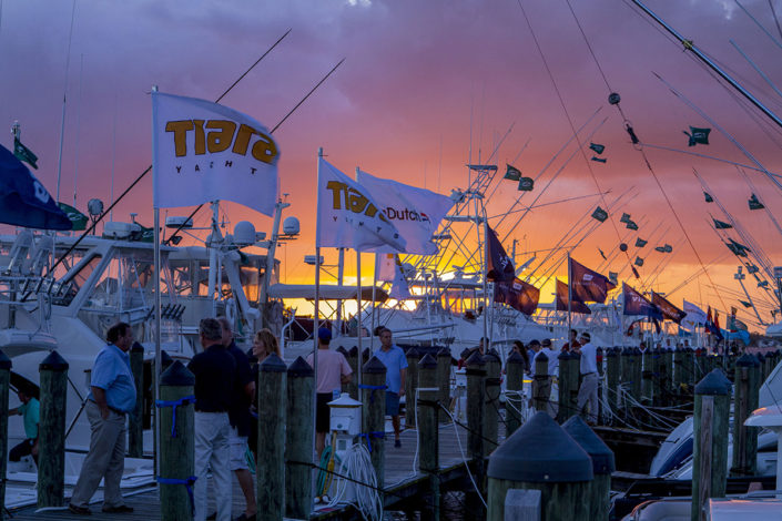 Tiara Yachts on Saturday