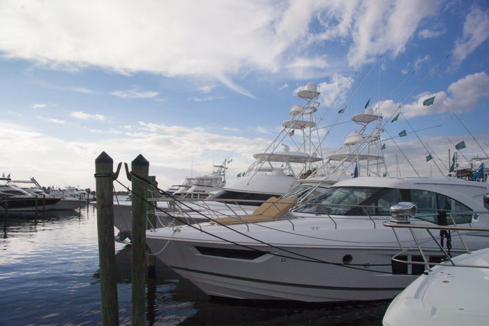Yachts at The Stuart Boat Show