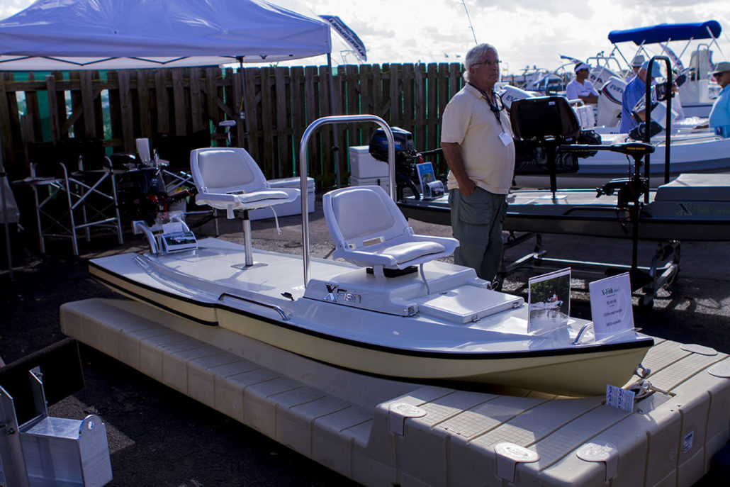Small Boat at The Stuart Boat Show