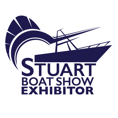Stuart Boat Show Exhibitor Logo All Navy with Transparent Background - Marketing Materials