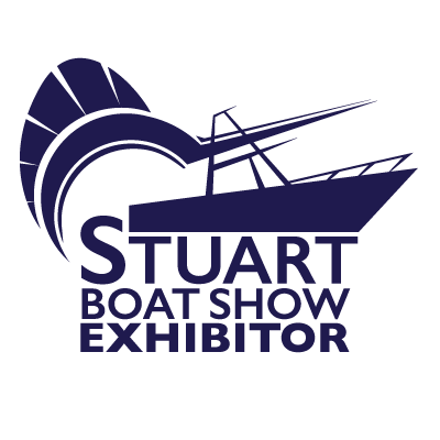 Stuart Boat Show Exhibitor Logo All Navy with White Background - Marketing Materials