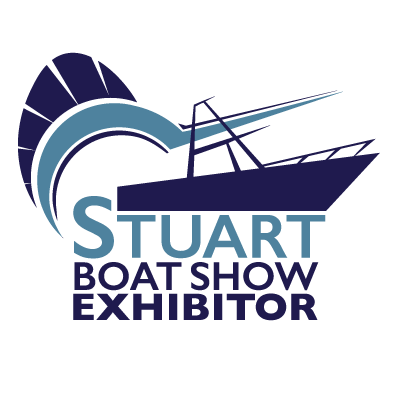 Stuart Boat Show Exhibitor Logo with Transparent Background - Marketing Materials