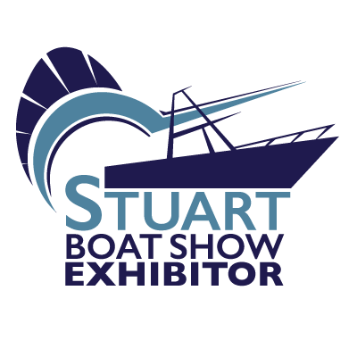Stuart Boat Show Exhibitor Logo with White Background - Marketing Materials