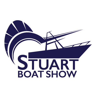 Stuart Boat Show Logo All Navy with Transparent Background - Marketing Materials