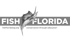Stuart Boat Show Sponsor-Fish Florida Logo BW