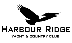 Stuart Boat Show Sponsor - Harbour Ridge Yacht & Country Club Logo BW